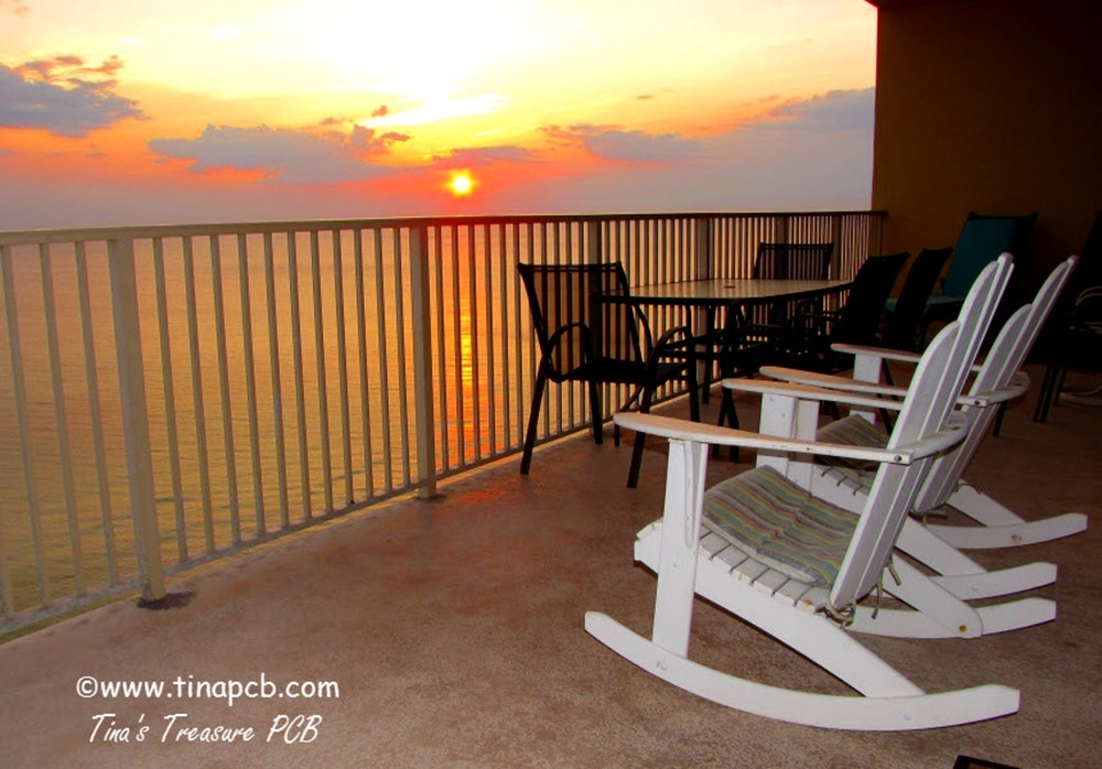 Click here to watch video of sunset from the balcony